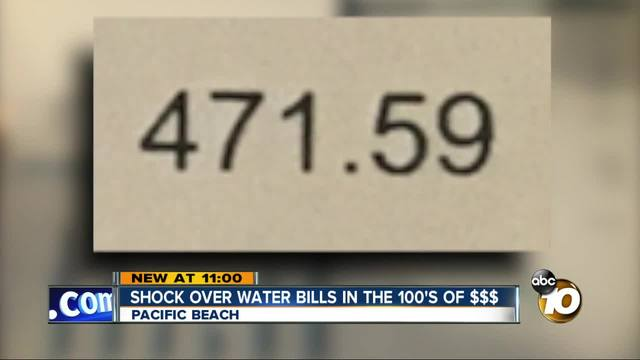 Residents Outraged By Sky High Water Bills 10news Com