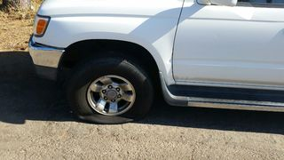 Car owners furious after finding tires slashed