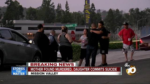 Mother killed- daughter found dead in Mission Valley