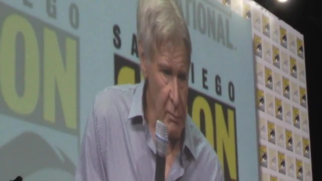 Harrison Ford- Ryan Gosling appear at San Diego Comic-Con