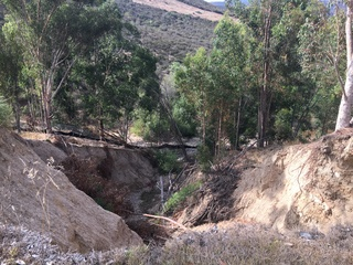 Hillside collapses near Scripps Ranch homes