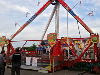 'Fire Ball' ride approved hours before accident