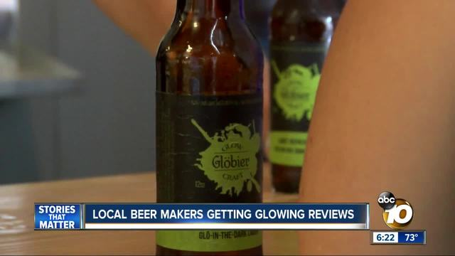 San Diego beer makers getting -glowing- eviews