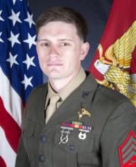 Hero's honors for fallen Marine in San Diego