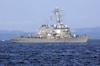 Navy officers to be removed from USS Fitzgerald
