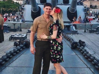 Marine killed in plane crash to be laid to rest