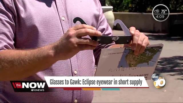 Glass to Gawk- Eclipse eyewear in short supply