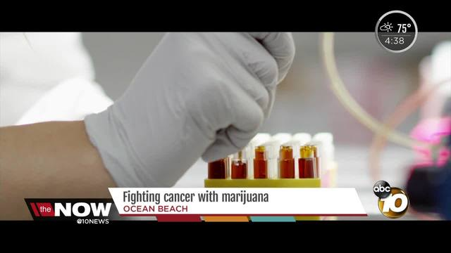 Cancer patients receive free medical marijuana from San Diego company