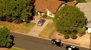 Suspect in custody after short standoff in Poway