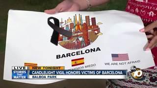 San Diegans honor Barcelona attack victims