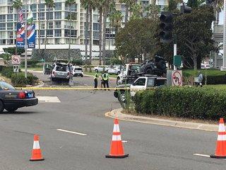 Coronado: One person dead in possible DUI crash