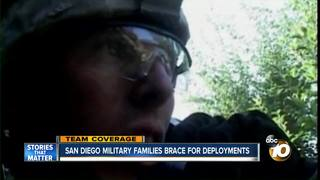 San Diego military families brace for deployment