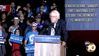 Sanders campaign stiffs National City