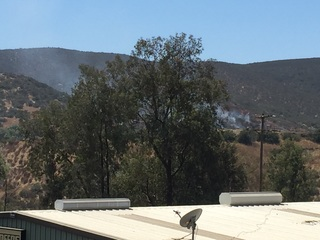 Cal Fire contains fire in Lakeside