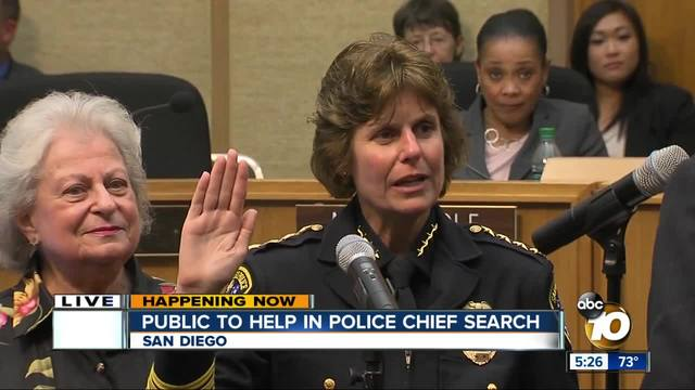 San Diego needs help to find a police chief
