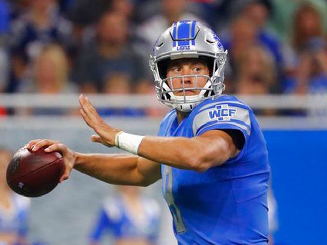 Matthew Stafford agrees to five-year contract with Lions