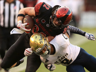 SDSU opens 2017 with dominant 38-17 win over UCD