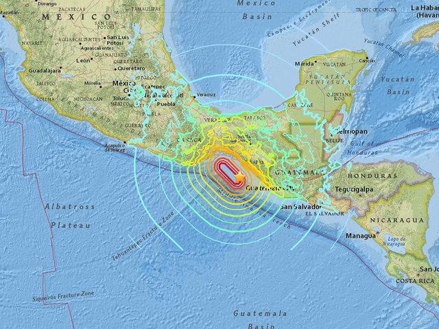 Social media reaction: 8.1 earthquake in Mexico - 10News ...