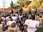 Marine gives inspiration to Serra High players