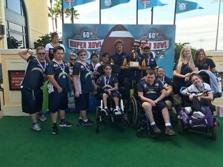 Young athletes left in the lurch by Chargers