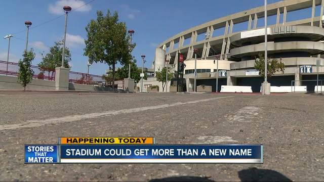 San Diego Stadium could get a new name
