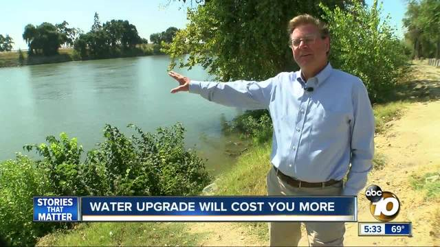 Water upgrade will cost you