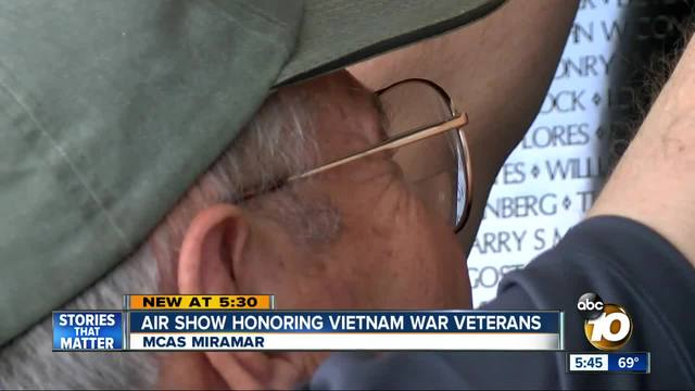 Miramar Air Show honoring Vietnam War veterans
