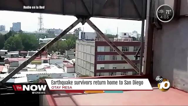 Search and rescue mission underway after Mexico natural disaster