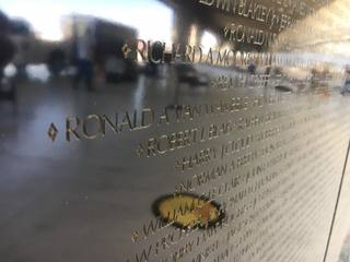 Mobile Vietnam Memorial Wall here for air show