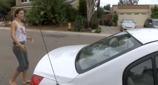 Woman chases, confronts knife-wielding burglar