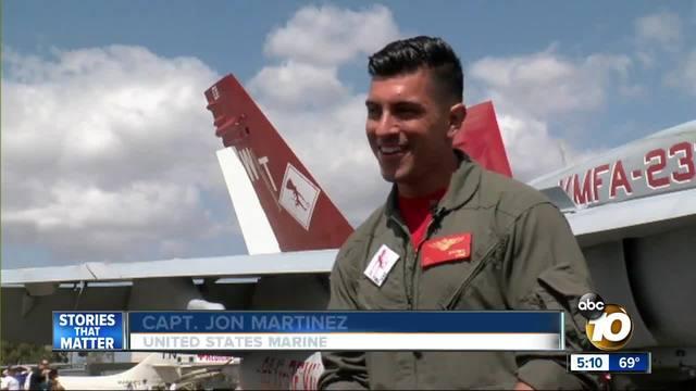 Local pilots wow crowds at MCAS Miramar Air Show