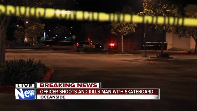 Oceanside police investigating officer-involved shooting