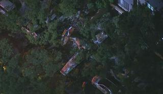 Plane crash lands in Burbank, two onboard