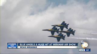 VIDEO: The air show's aerial excitement...