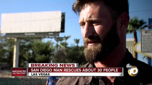 Las Vegas shooting hero to be given free truck