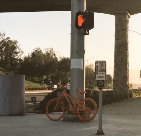 Mysterious Orange Bikes Removed Due To Code Violations In