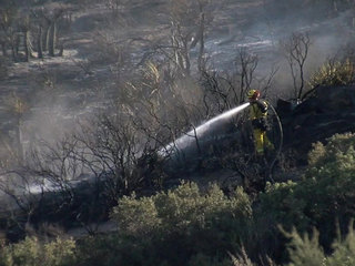Cal Fire: Wilson Fire caused by shooting