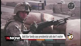 Fallen Marine's dad addresses Gold Star debate