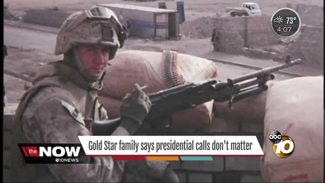 Father of fallen Marine weighs in on President-s controversial comments…