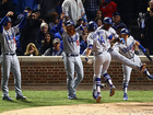 Dodgers top Cubs to reach World Series