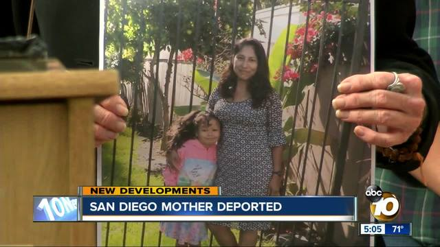 San Diego mother deported