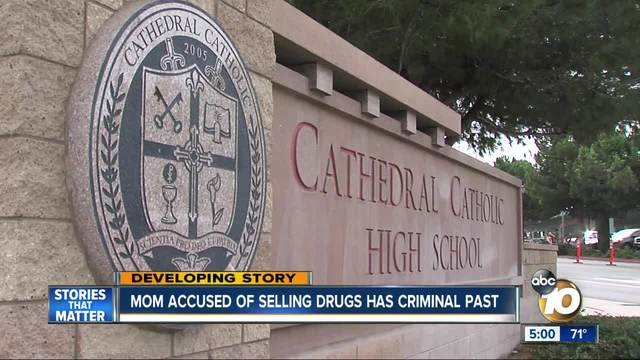 Mom accused of selling drugs at San Diego high school has criminal past