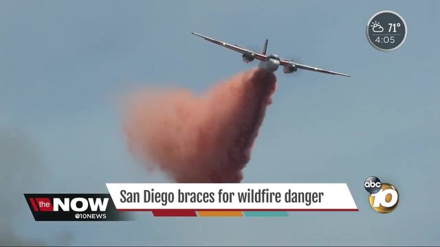 San Diego braces for wildfire danger