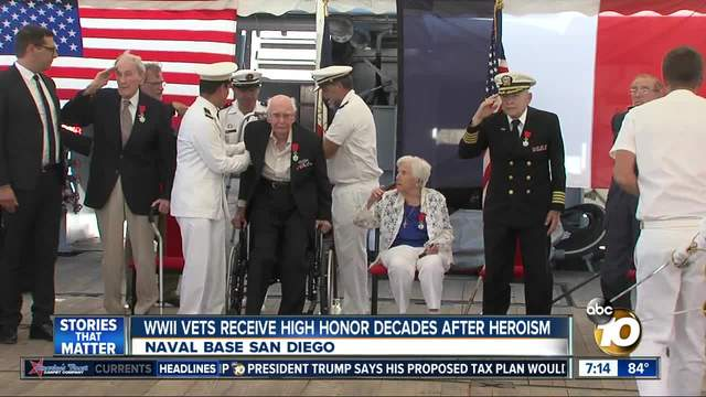 Five World War II veterans receive France-s highest honor