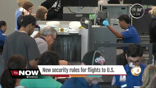 New Security Screenings for Travelers Coming to USA on International Flights
