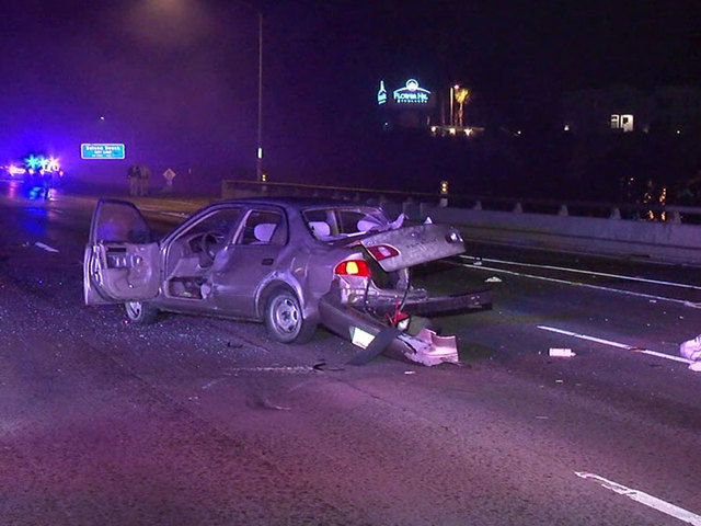 Driver killed in chain reaction crash on I-5 in Del Mar