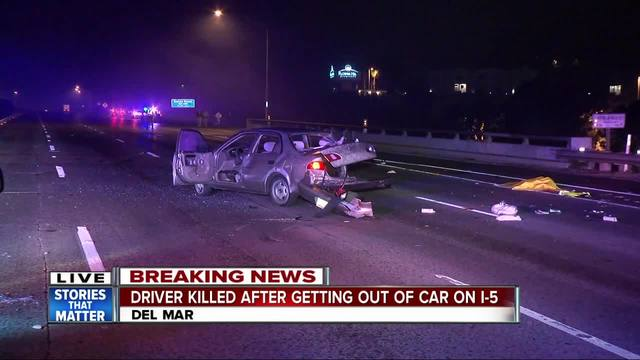 I-5 in Del Mar reopens after deadly crash
