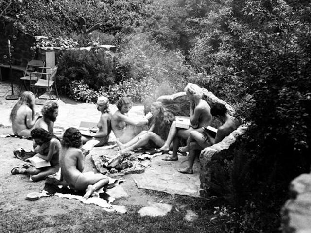 Nudist colony photo collection