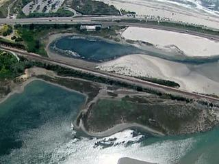 Line break causes sewage spill at lagoon