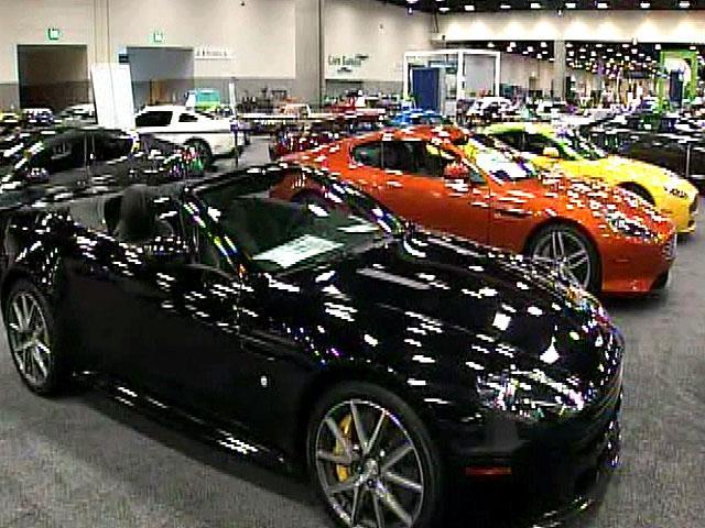 San Diego International Auto Show Under Way Newscom KGTVTV San - San diego convention center car show